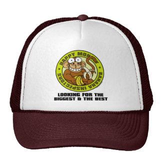 Happy Monkey Banana Inspectors Hat
