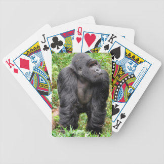 Happy Monkey Bicycle Playing Cards