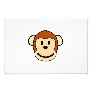 Happy monkey cartoon photograph