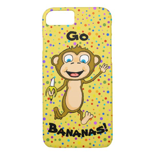 Happy Monkey Cell Phone Case