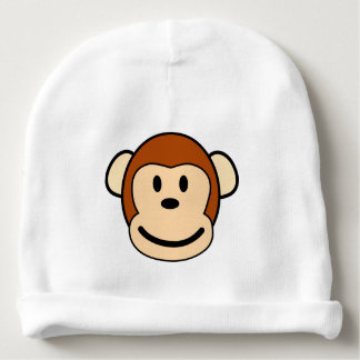 Happy Monkey Hat Baby Beanie