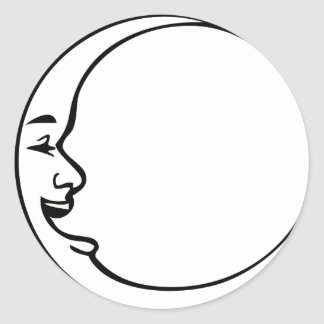 Happy Moon Day Sticker