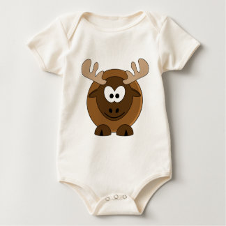 Happy Moose Baby Bodysuit