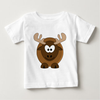 Happy Moose Baby T-Shirt