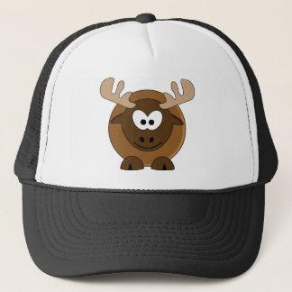 Happy Moose Trucker Hat