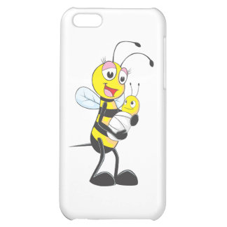 Happy Mother and Baby Bee Case For iPhone 5C