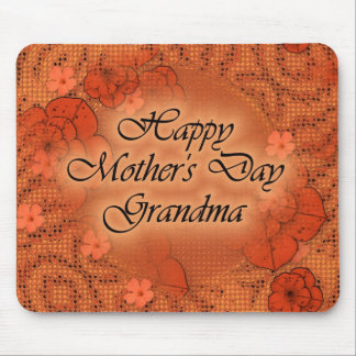 Happy Mother's Day Grandma Mouse Mat
