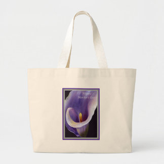 Happy Mother s Day - Abstract Calla Canvas Bags