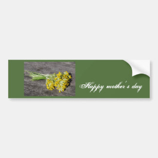 Happy mother´s day bumper sticker