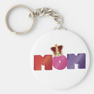 Happy Mother s Day MOM with Jewel Crown Keychain