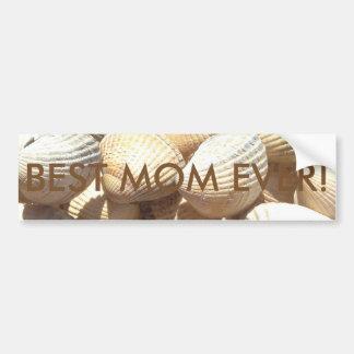 Happy Mother´s Day, Seashells, Photo Summer Beach Bumper Sticker