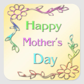 Happy Mother s Day Sticker