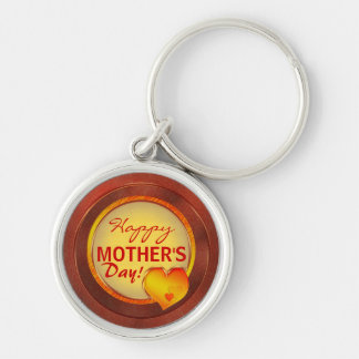 Happy mother s day text template keychains