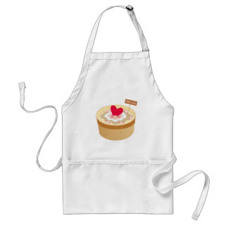 Happy Mother'd Day - Sweet Love Heart Cake Standard Apron