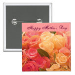 Happy Mother's Day_ 15 Cm Square Badge