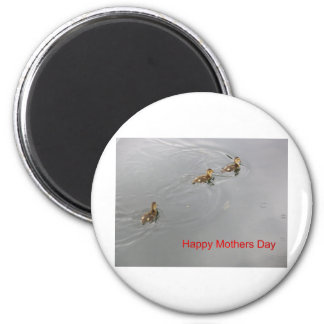 Happy Mothers Day 6 Cm Round Magnet
