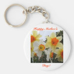 Happy Mother's Day! Basic Round Button Key Ring