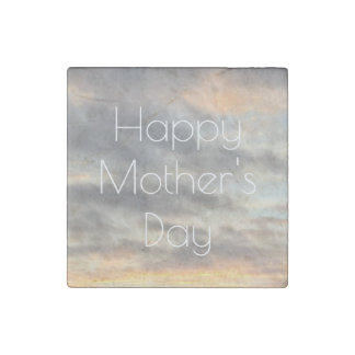 Happy Mother's Day Beautiful Sunset Magnet Stone Magnet