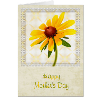 Happy Mother's Day - Black-Eyed Susan Stationery Note Card