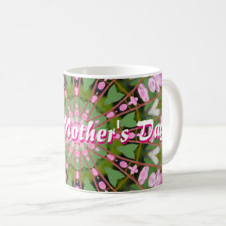 Happy Mother's Day! Bleeding heart 02.3, mandala Coffee Mug