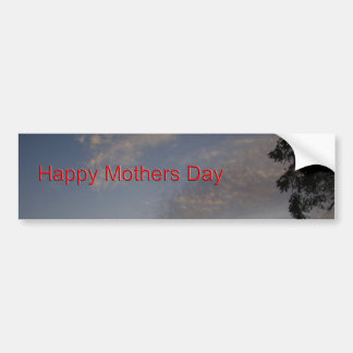 Happy Mothers Day Bumper Sticker
