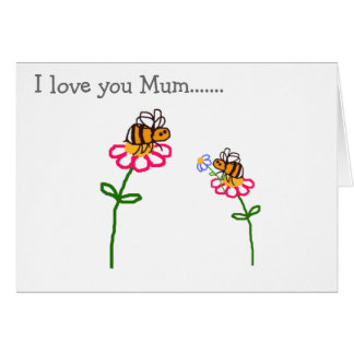 Happy Mother's Day BuzzAboutBees Greeting Card