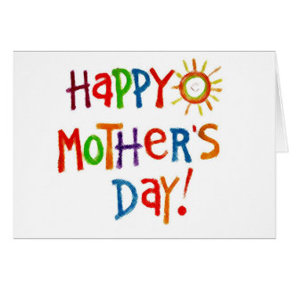 Happy Mother's Day by crayons - Customize Greeting Card