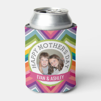 Happy Mother's Day - Custom Photo Template Can Cooler