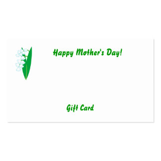 Happy Mother's Day!-Customize Pack Of Standard Business Cards