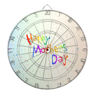 Happy Mothers Day Dartboards