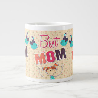 Happy Mother's Day doodle mug