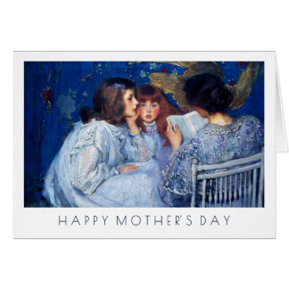 Happy Mother's Day. Fine Art Custom Greeting Cards