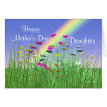 Happy Mothers Day for Daughter Spring Flowers