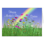 Happy Mothers Day for Sister Spring Flowers