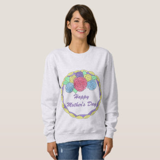 Happy Mother's Day Frosted Cake Mom Sweatshirt