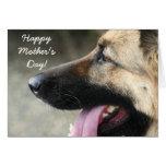 Happy Mother's Day German Shepherd Greeting Card