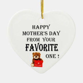 Happy Mothers Day gift Christmas Ornament