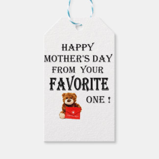 Happy Mothers Day gift Gift Tags