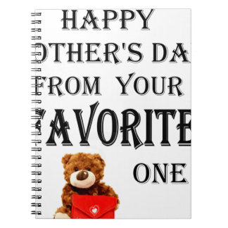 Happy Mothers Day gift Notebook