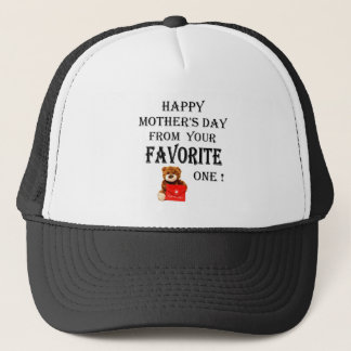 Happy Mothers Day gift Trucker Hat