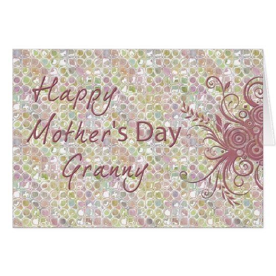 Happy Mother's Day Granny Card