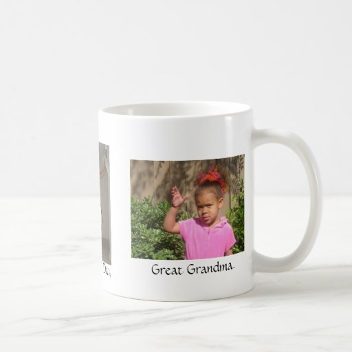 Happy, Mothers' Day, Great Grandma. Coffee Mugs