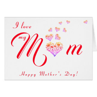 Happy Mothers Day/Happy Birthday Greeting Card