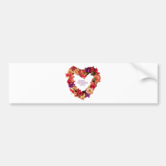 Happy Mothers Day Hapy Mother s Day May 12th Bumper Sticker