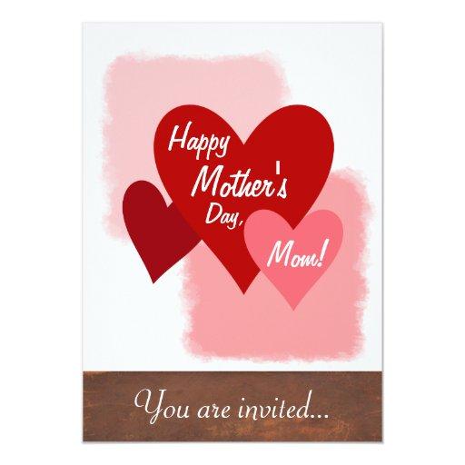 Happy Mother's Day Invites