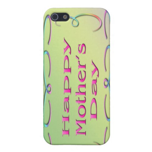 Happy Mother's Day  iPhone 5 Cases