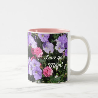 """Happy Mother's Day """"Love You Mom!"""" Two-Tone Mug"""