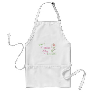 Happy-Mothers-Day Love you Mom Unique Standard Apron
