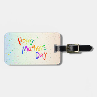Happy Mothers Day Luggage Tag