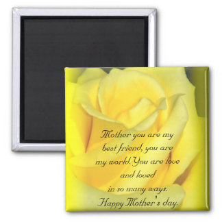 Happy Mother's Day_Magnet Square Magnet